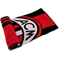 A.C. Milan Blanket -- coperta in pile, 100% poliestere, dimensioni: