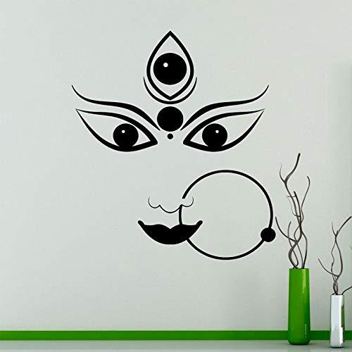 yl Aufkleber Hinduismus Wandaufkleber Interior Schlafzimmer Dekor Asien Indien Wandmalereien Dekoration Tapete 57 * 64 cm ()