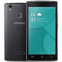 DOOGEE X5 MAX Pro Smartphone 4G LTE MTK6737 64-bit 5.0 '' IPS HD 1280 * 720 Pixels Pantalla Android 6.0 2G+16G 8MP+8MP Cámara Fingerprint Smart Gesture OTG