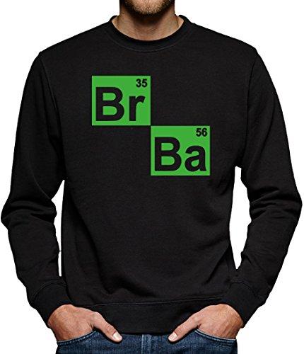 TLM BR BA Formel Sweatshirt Pullover Herren M Schwarz