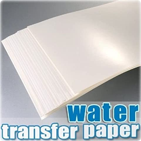 TPH A4 Inkjet Water Slide Decal Paper Craft Transfer x 20pcs Transparent.