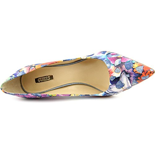Guess Babbitta 3 Toile Talons Blue Multi