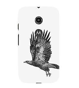 Ebby Premium Printed Mobile Mobile Back Case Cover With Full protection For Motorola Moto E2 (Designer Case)