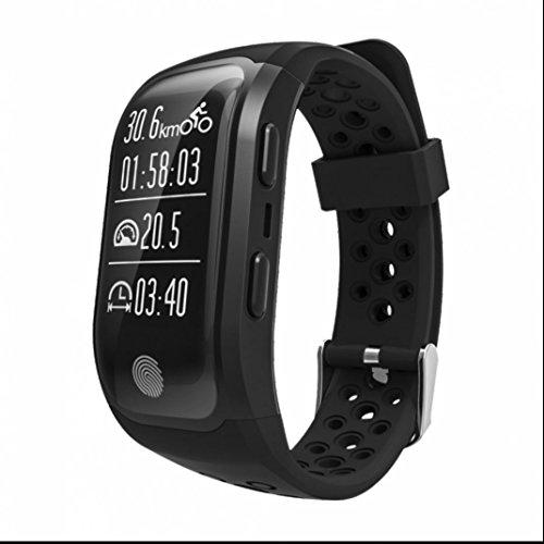 Bluetooth Smart Bracelets Pedometer Armband Fitness Tracker Real Time Heart Rate Monitor Schlaftracker Leben wasserdicht Ringing Erinnerung handy uhr Anti-Telefonverlust Sport Activity Fitness Tracker für samsung/huawei/apple