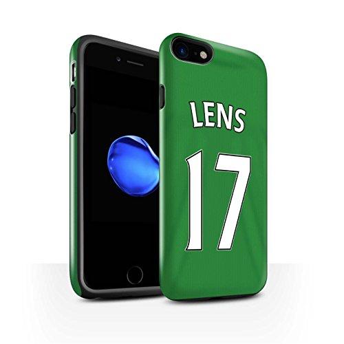 Officiel Sunderland AFC Coque / Brillant Robuste Antichoc Etui pour Apple iPhone 7 / Larsson Design / SAFC Maillot Extérieur 15/16 Collection Lens
