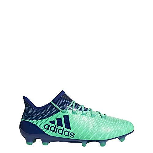 adidas Herren X 17.1 FG Fußballschuhe Blau (Aerver/Tinuni/Vealre 000) 48 EU -