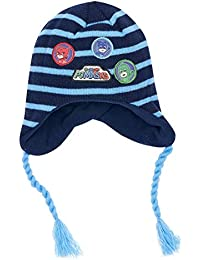 b104face00ee Les Pyjamasques Bonnet péruvien enfant garçon Marine ...