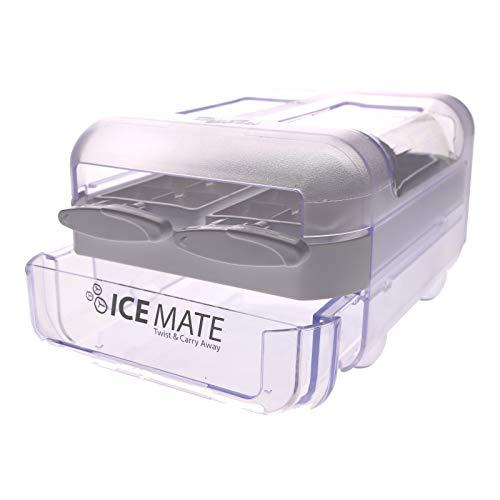 Eiswürfelbereiter für Whirlpool Bauknecht 484000001113 Wpro Ice Mate ICM101 Gefrierschrank Kühlschrank