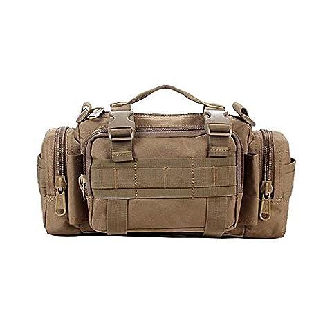 Contever® Utility Duffle Waist Bag Shoulder Bag Pack Camping Bag Molle Backpack
