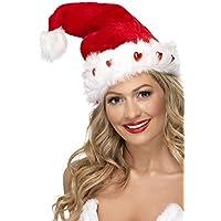 Smiffys Light Up Cappello Di Babbo Natale