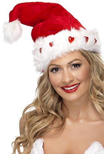 ende Weihnachtsmann Mütze, One Size, 23029 (Herren Light Up Halloween Kostüme)