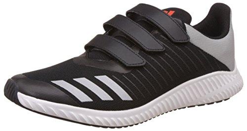 adidas Unisex-Kinder Fortarun Cf K Sneakers CBLACK/ENERGY/SILVMT