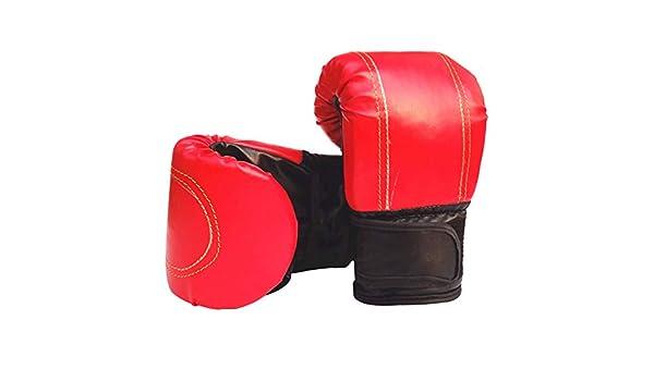 SEGRJ Gants dentra/înement en Similicuir Doux et Confortable pour Boxe MMA Muay Thai Sac de Sable