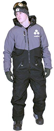 Oneskee Mark III Herren Winter Anzug Camouflage schwarz M4