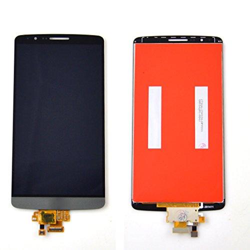 for jiujinyi LG G3 D850 D851 D855 VS985 para LCD Pantalla Táctil de Digitalización Asamblea Pantalla de Recambio (Negro)