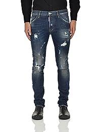 Dsquared2 - Jeans - Droit - Homme bleu bleu