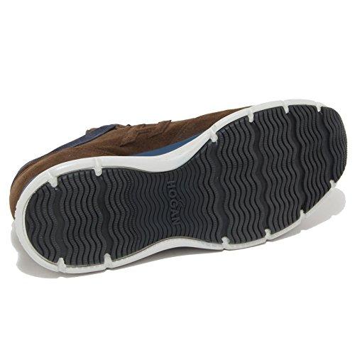 4437N sneaker HOGAN TRADITIONAL 2015 scarpe uomo shoes men marrone Marrone/Blu