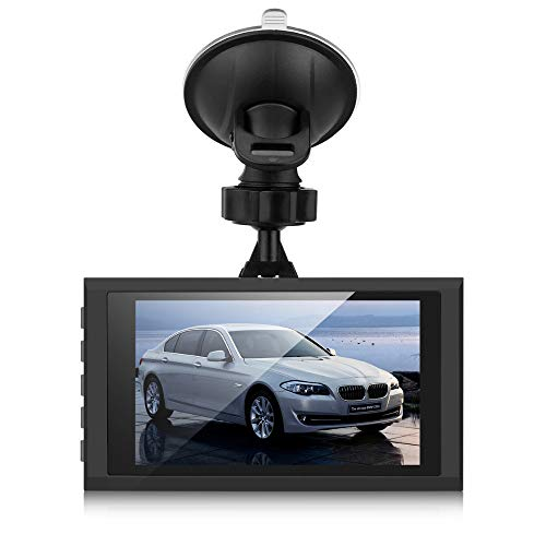 YusellYu_Mädchen Strampler Jumpsuit Yusell 1080P Nachtsicht HD G-Sensor Auto DVR Fahrzeug Kamera Video Recorder Dash Cam (grau) (Fahrzeug-video-recorder)
