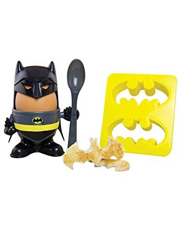 Ensemble Coquetier et découpes-toast Batman