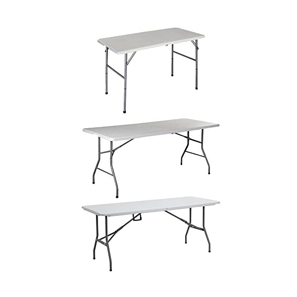 Home Folding Table Heavy Duty Extra Strength Camping Buffet Wedding Market Garden Party Car Boot Stall Picnic Trestle Indoor Outdoor Foldaway 1