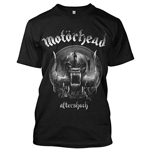 Motorhead DS EXL Aftershock Camiseta, Schwarz, S para Hombre
