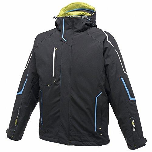 Dare 2b Herren Tenacity Winter-Jacke / Ski-Jacke Schwarz