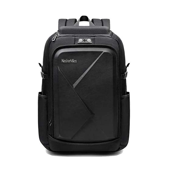 Nasher Miles Apo Black Laptop Backpack 37 L