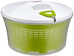 Leifheit Salad Spinner Signature Centrifuga per Insalata, Facile da pulire, Verde