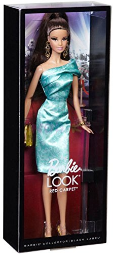 Barbie The Look Red Carpet Pink Gown Barbie Doll Collector Black Label