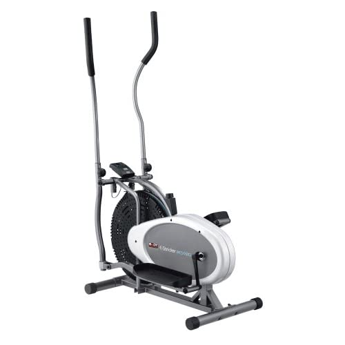 412L4WVm2uL. SS500  - Body Sculpture BE5920 Dual-Action Air Elliptical Cross Trainer | 12 Months Warranty | Adjustable Air Resistance | Track Your Progress | More