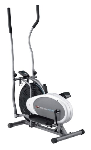 412L4WVm2uL - Body Sculpture BE5920 Dual-Action Air Elliptical Cross Trainer | 12 Months Warranty | Adjustable Air Resistance | Track Your Progress | More