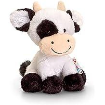 Keel Toys -, 14 cm, Pippins Felpa de la Serie en Forma de Vaca