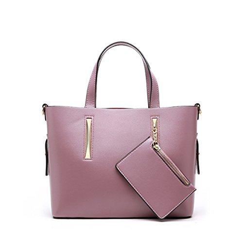 Handtaschen Damen Collins Mode Große Kapazität Tragbare Schultertasche Schultertasche Purple