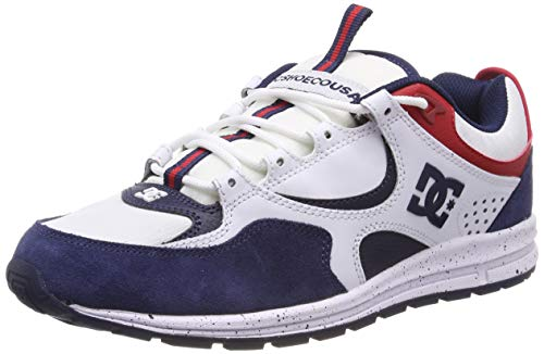 DC Shoes Kalis Lite Se, Scarpe da Skateboard Uomo, Multicolore (White/Red/Blue Xwrb), 42 EU