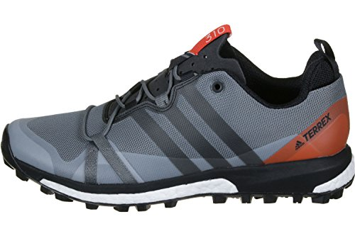 adidas Terrex Agravic, Scarpe da Escursionismo Uomo Grigio (Grivis/Negbas/Energi)