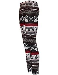 Waooh - Legging Motif Tête De Mort Et Géométrique Calina