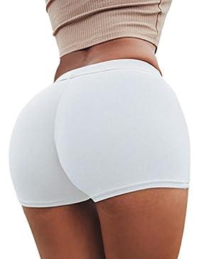 ZARLLE Pantalones De Seguridad Cortos De Yoga para Mujer, Pantalones De Deporte De Verano De Las Mujeres Shorts...