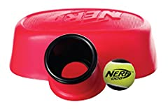 Idea Regalo - Hasbro Nerf Dog vp6864e Launcher palla cannone con palla da tennis, Rosso