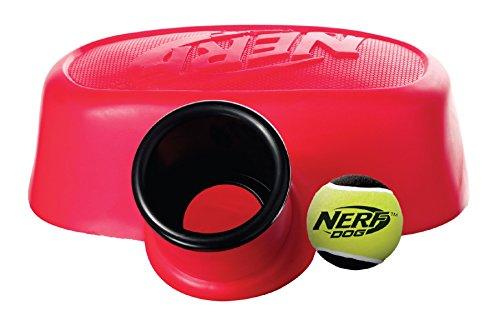 nerf-dog-vp6864e-launcher-palla-cannone-con-palla-da-tennis-rosso