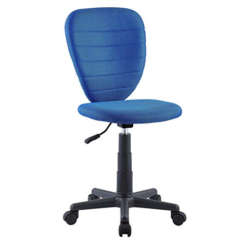 CARO-Möbel Kinderdrehstuhl Discovery Schreibtischstuhl Drehstuhl in dunkelblau, höhenverstellbar -