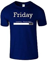 Friday Loading Weekend Frauen Der Männer T Shirt