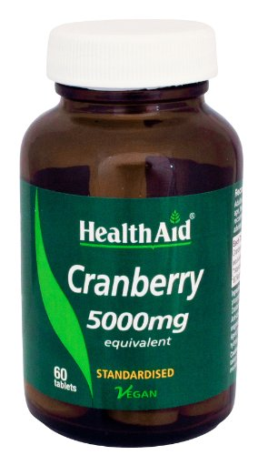 HealthAid Cranberry 5000mg - 60 Vegan Tablets