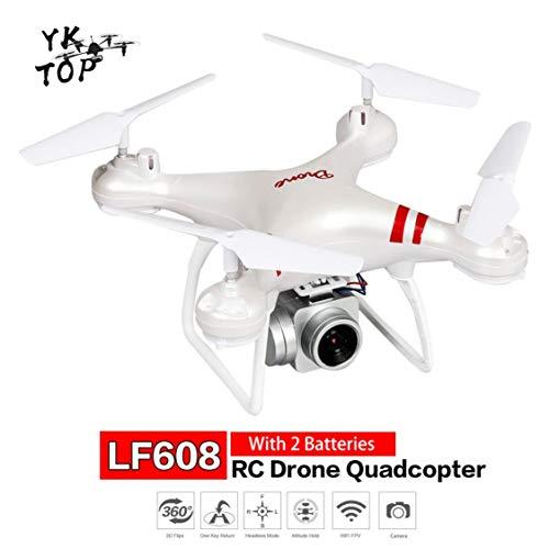 ITFancysweety LF608 RC Drone Selfie Drone Selfie Drone Quadricottero Pieghevole Professionale con Fotocamera da 0,3 MP e 2 batterie VS droni KY601S HJ14