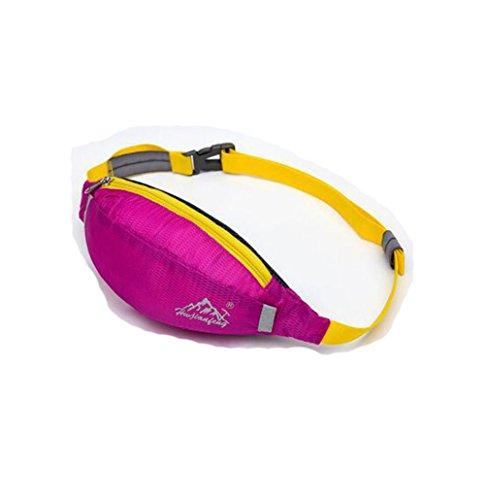 Wmshpeds Outdoor ultra - luce sport tasche multi-funzionale di arrampicata outdoor tasche borsa da viaggio candy borsa di pelle B