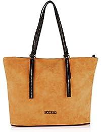 Caprese Delphy Women's Tote Bag (Yellow)