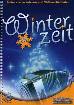 WINTERZEIT - arrangiert für Steirische Handharmonika - Diat. Handharmonika - mit CD [Noten / Sheetmusic]