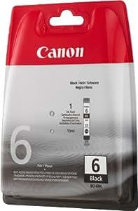 Canon BCI-6 BK Original Tintenpatrone, 13ml schwarz
