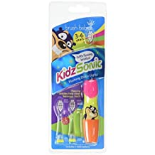 Brush Baby Pink Kidz Sonic Electric Toothbrush-3 x Small brush heads with soft vibrating bristles