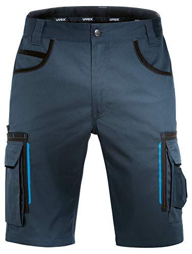 Uvex Tune-Up Pantaloni da Lavoro - Pantaloncini Estivi - Blu - Taglia 58