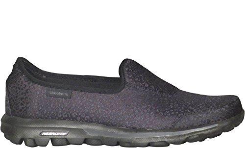 Skechers Gowalk slittamento Untamed On Black